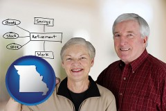 mo a retired couple reviewing their investments